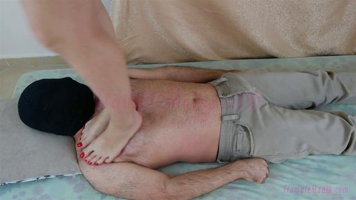 Crystal's Extreme Barefoot Trample & Stomp