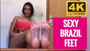 Sexy Brazil Feet