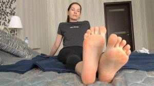 Sexy Feet and Soles After Workout