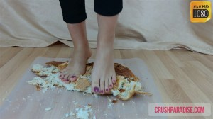 Crystal's Bare Feet Bread Crush