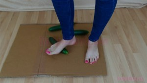 Crystal Crushes Cucumbers Barefoot