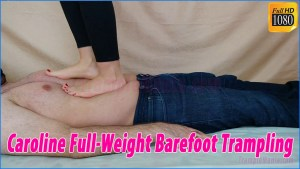 Caroline Barefoot Full Weight Trampling