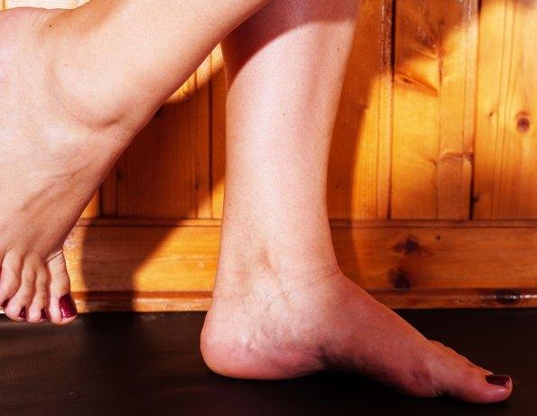 Sonja foot model