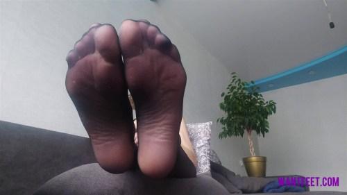 Mashas Perfect Feet in Stockings