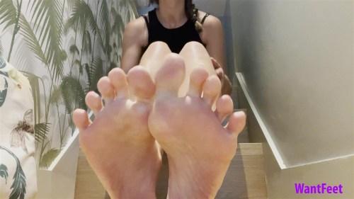 Christinas Feet JOI
