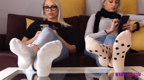 Liana and Jasmine Stinky Socks