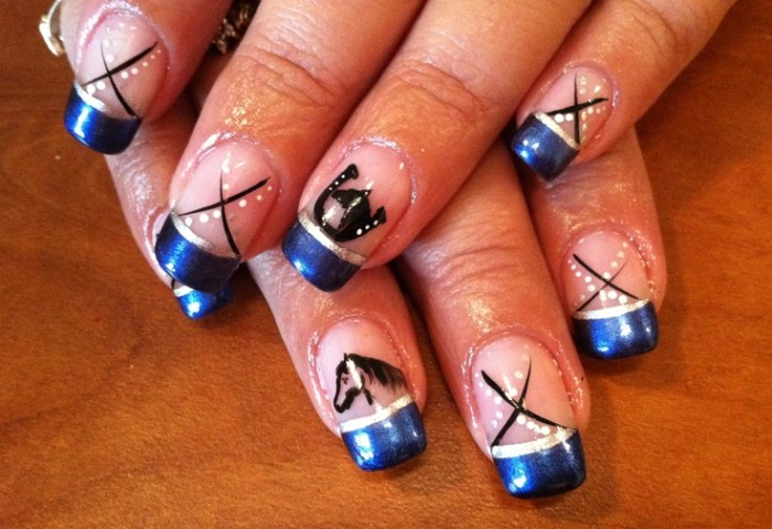 Manicure With An Equestrian Motif Want It Have It
