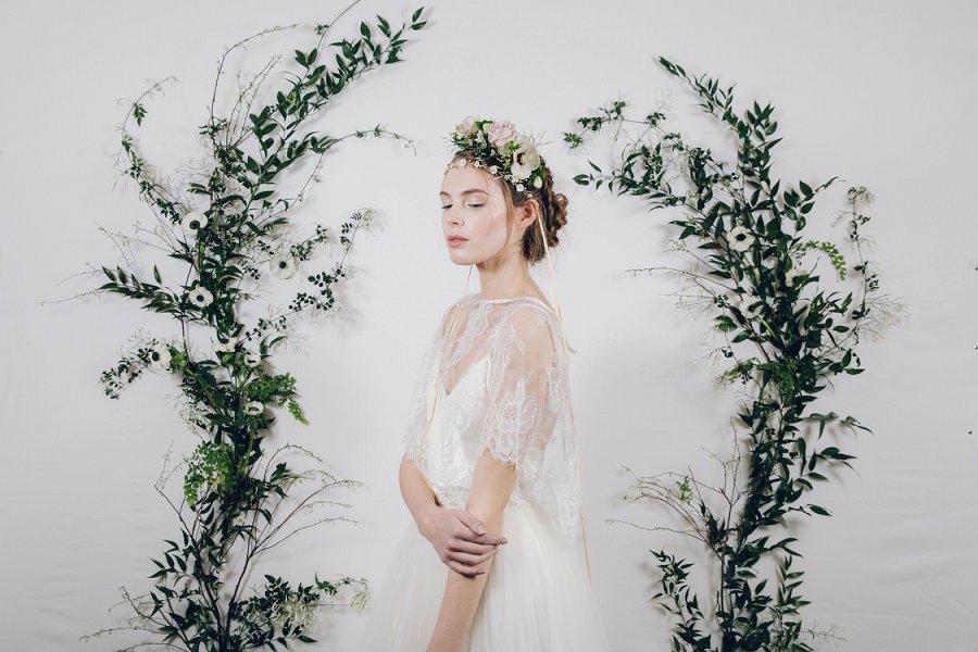 Enchanting & Ethereal Bridal Headpieces By Debbie Carlisle