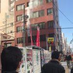 東京浅草寺近くのビルが火事!火災原因と場所はどこ、負傷者はいるの?