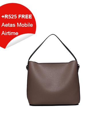 Ladies Shopper Bag Beige