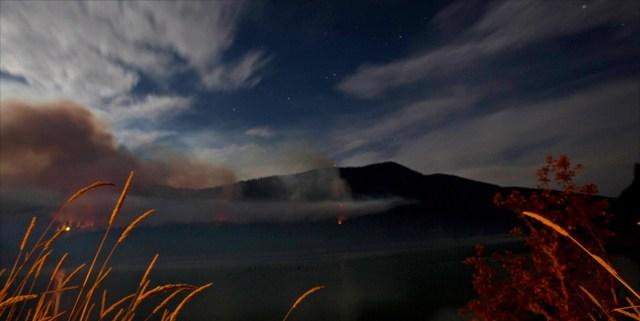 Travel writer/photographer Amanda Castleman captured this view of the Alder Lake Fire.