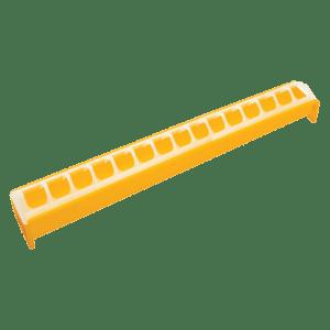 Novital 50cm yellow trough feeder