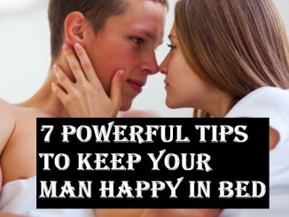 how to keep your man happy in bed