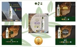 One & Olive olijfolie awards