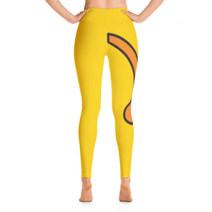 Wapuu Tail Yoga Leggings