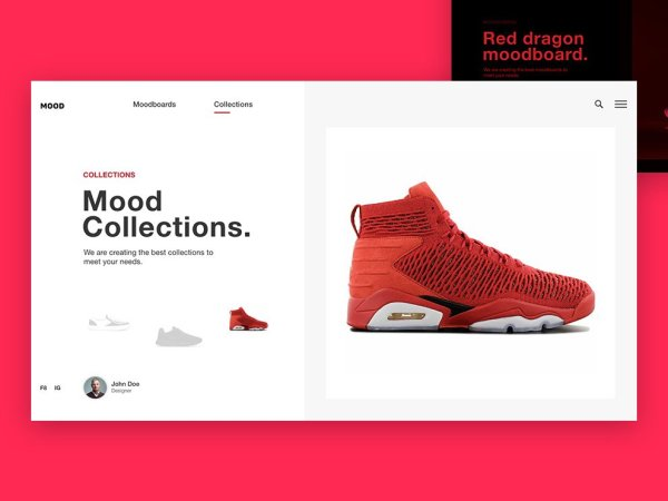 Sneakers Shopping Cart Design