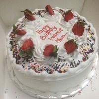 cream berries cake online