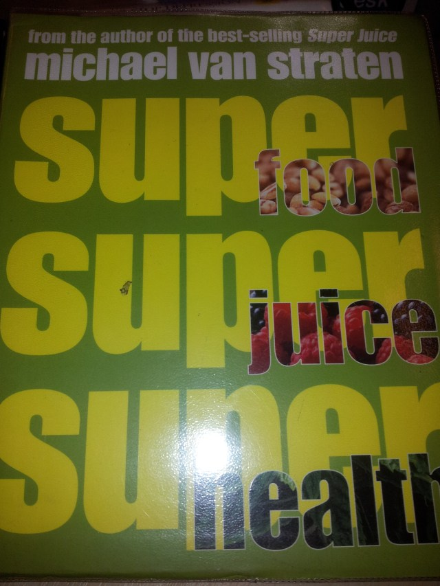 Horse Power Recipe Taken from Super Food Super Juice Super Health