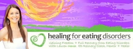 Healing for ED Lauren Cowne
