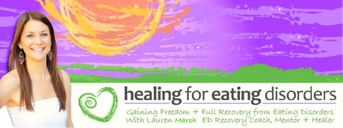 Healing for ED Lauren Cowne
