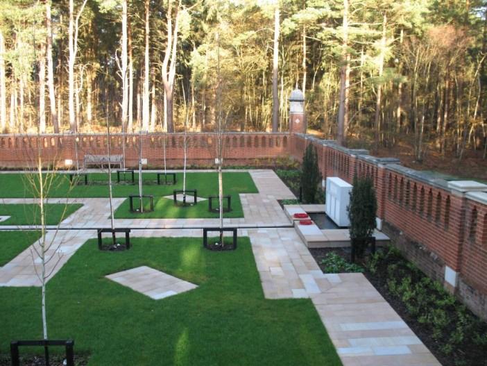 peace garden features
