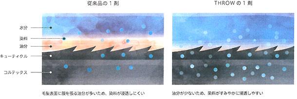 スローのウォータークリーム処方イメージ図