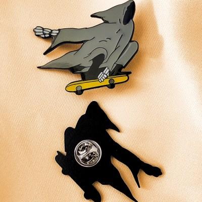 War and Peas - Grim Reaper Pin