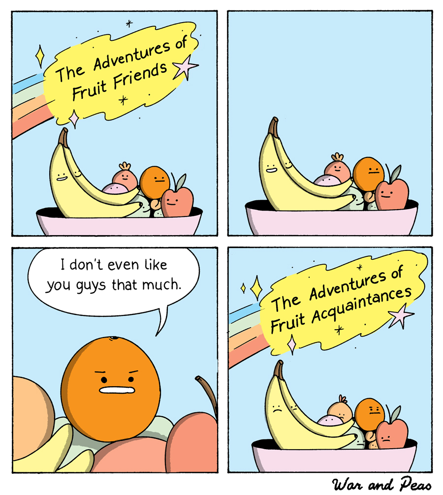 War and Peas - Adventures of Fruit Friends - Elizabeth Pich and Jonathan Kunz