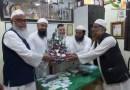 رکن اسمبلی مفتی محمد اسماعیل قاسمی کا جمعیۃعلماء مہاراشٹر کے دفتر میں والہانہ استقبال
