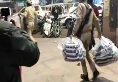 CAA-NRC: प्रदर्शनकारियों के छीने गये कंबल और खाने- पीने के सामान!