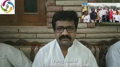 #Farooque Ahmed VBA Candidate ka MaxMaharashtra ko interview