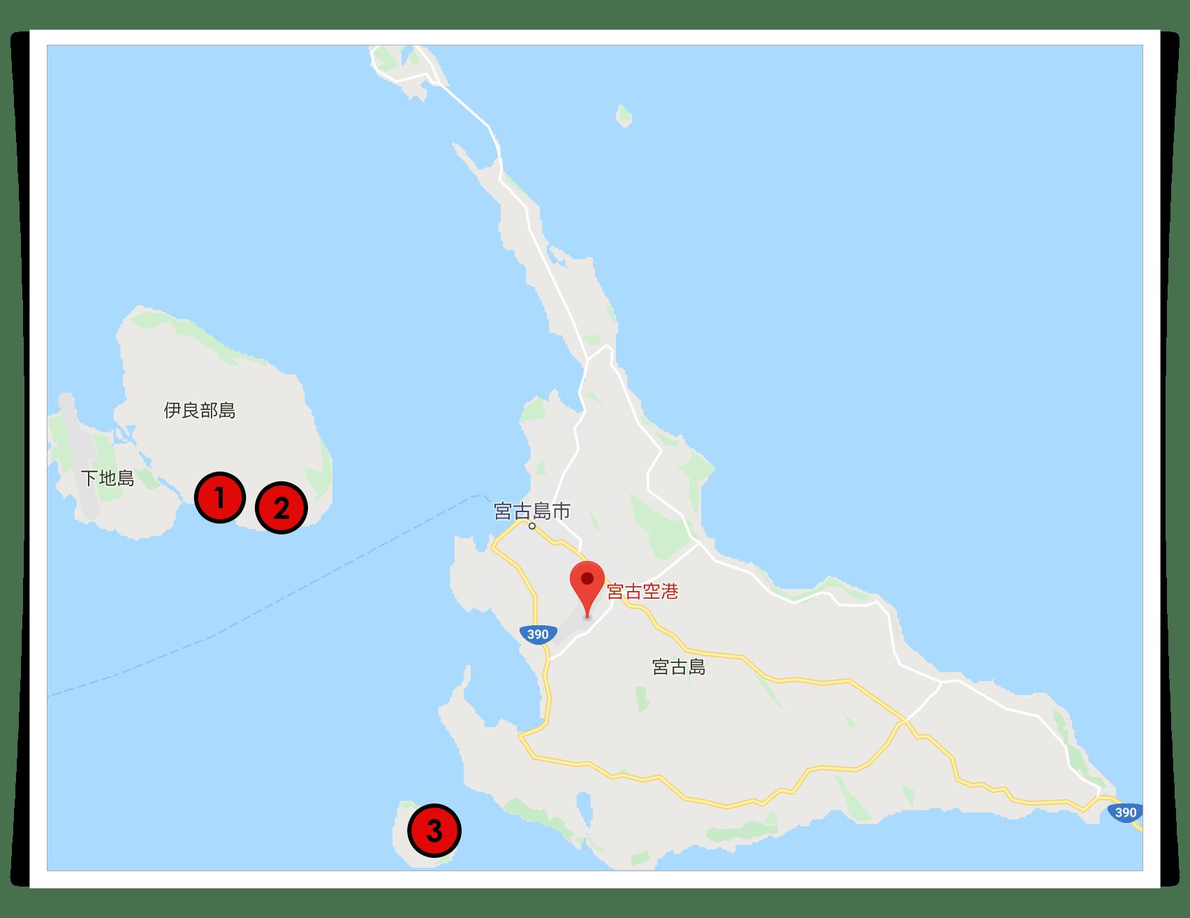 宮古島,移住,おすすめ,カフェ,地図