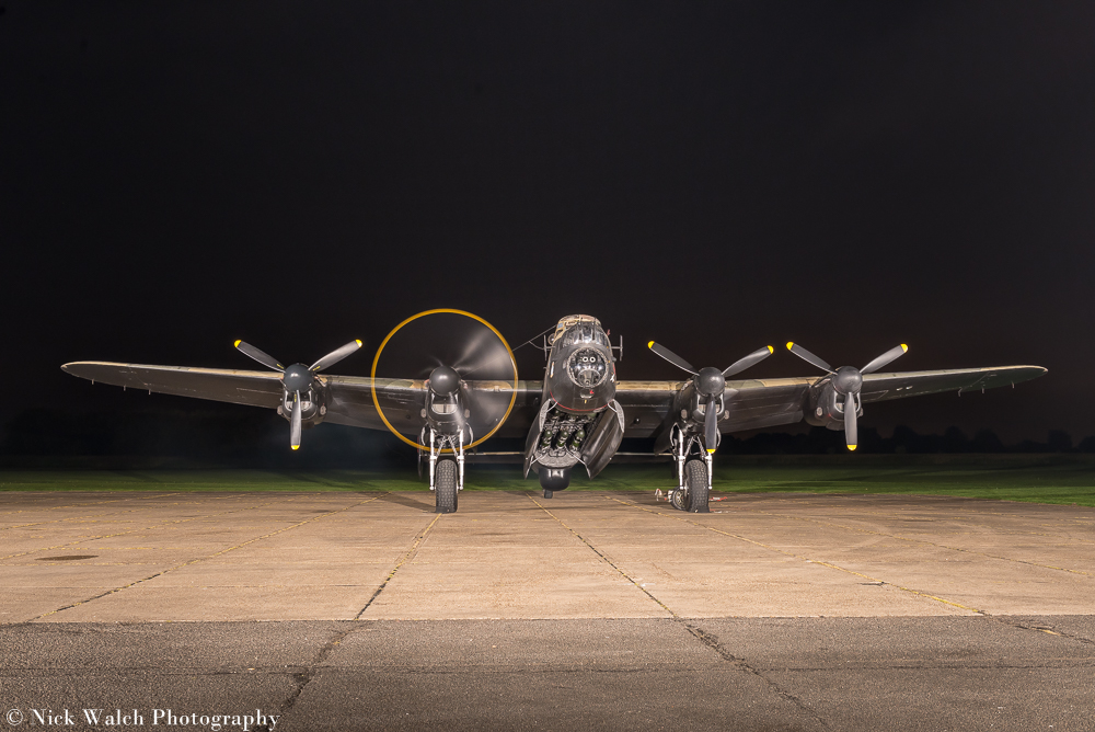 Lancaster Bomber NX611 Just Jane