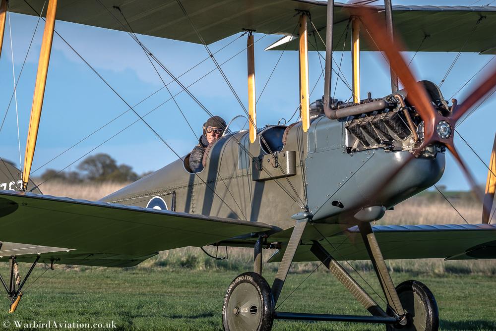 RAF BE2 at stow Maries
