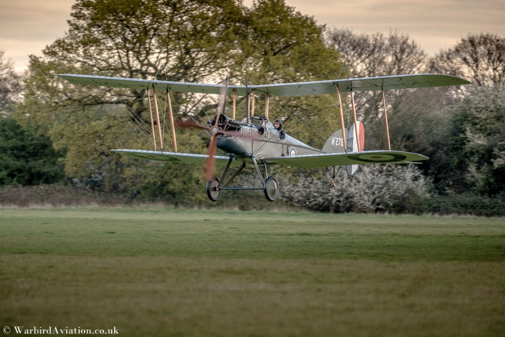 RAF BE2 at Stow Maries