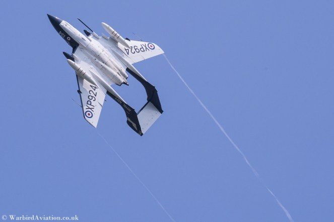 Sea Vixen G-CVIX - Shuttleworth Fly Navy