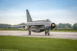 English Electric Lightning F6 XR728 - Cold War Jets