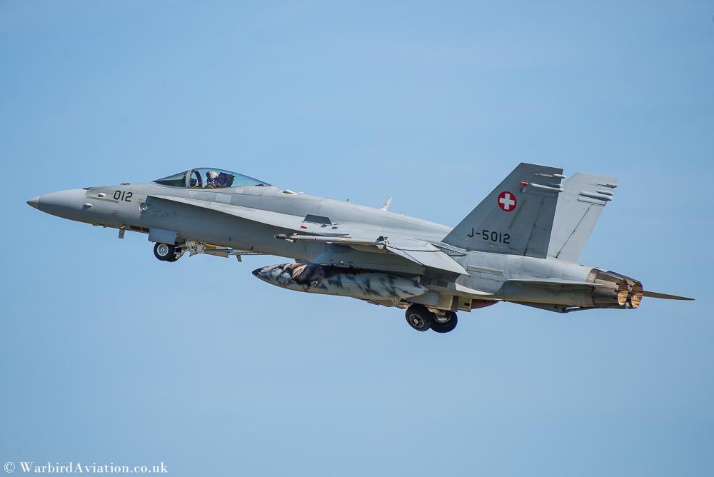 Swiss F-18 Hornet J-5012