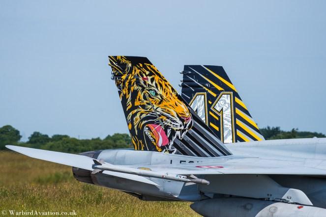 Swiss F-18 Hornet J-5011