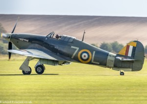 Hawker Sea Hurricane Z7015'