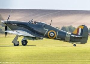 Hawker Sea Hurricane Z7015'