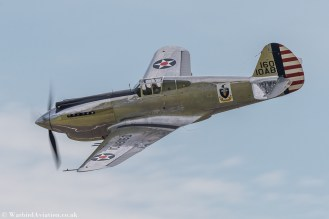 Curtiss P-40C Warhawk 41-13357