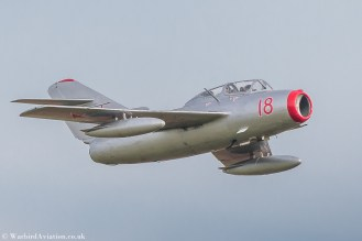 Norwegian Air Force Historical Squadron MiG 15 N104CJ