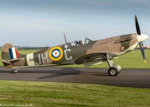 Spitfire BM597 @ Duxford Battle of Britain Show 2017