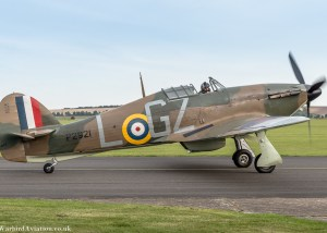 Hawker Hurricane P2921