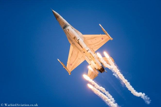 Polish Air Force F-16 Tiger Demo Team