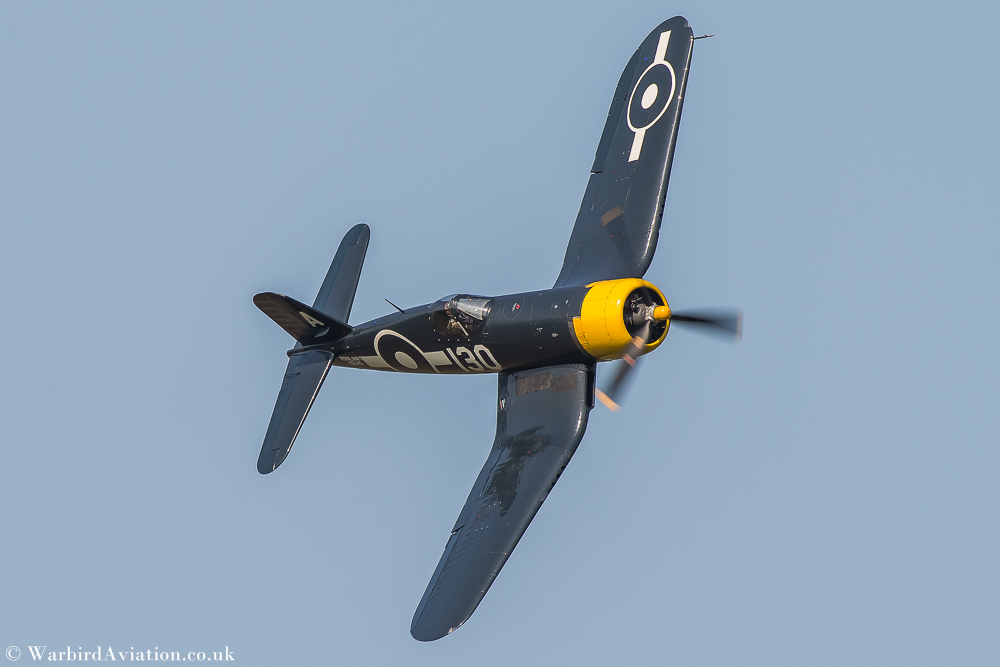 Goodyear Corsair FG-1D (G-FGID) | The Fighter Collection