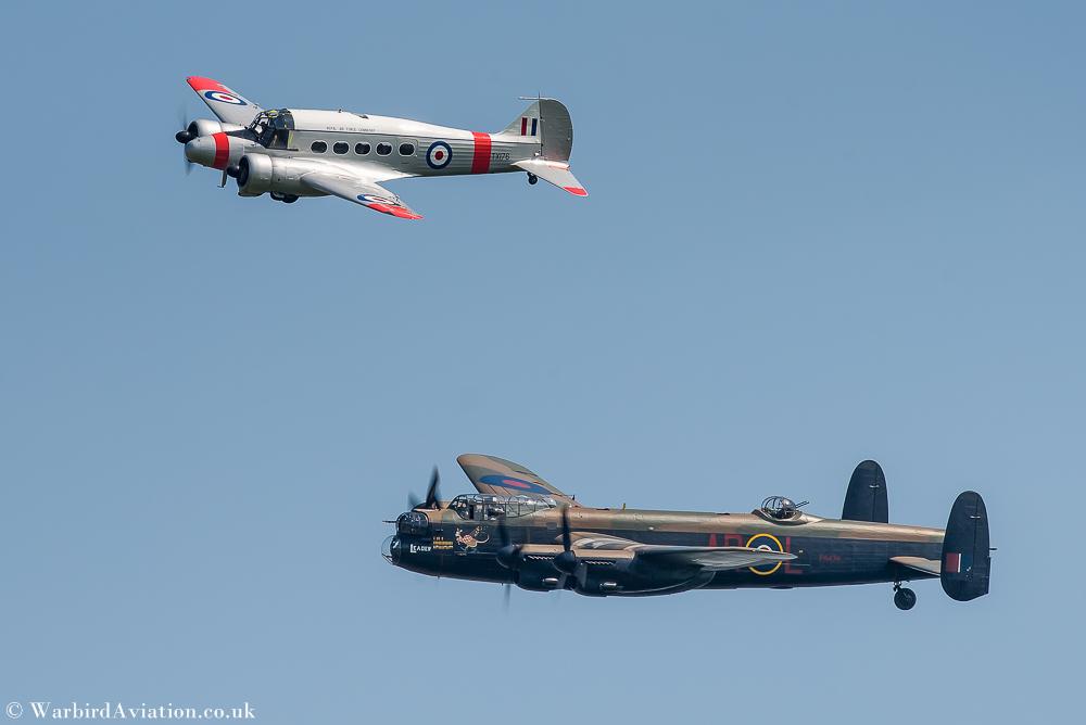 BBMF Avro Lancaster and BAE Avro Anson