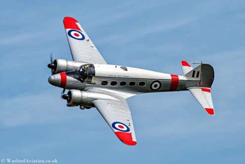 Avro Anson C19 TX176 (G-AHKX)
