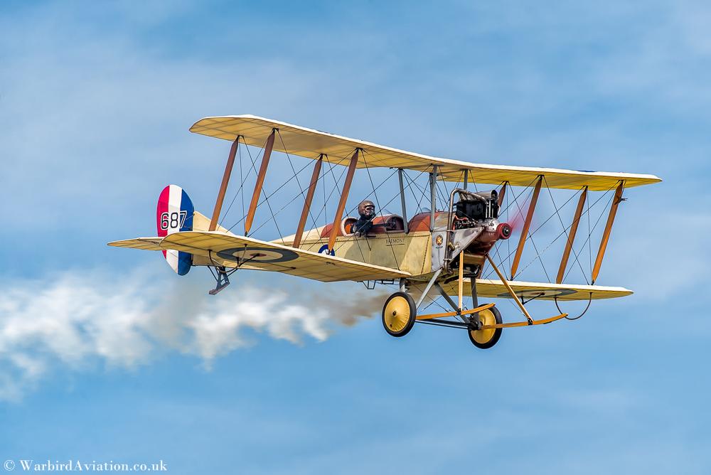 Royal Aircraft Factory BE2c '687' (G-AWYI)